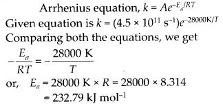 NCERT Solutions For Class 12 Chemistry Chapter 4 Chemical Kinetics Exercises Q26.1