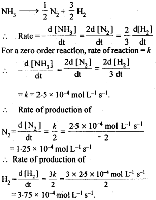 NCERT Solutions For Class 12 Chemistry Chapter 4 Chemical Kinetics Exercises Q3