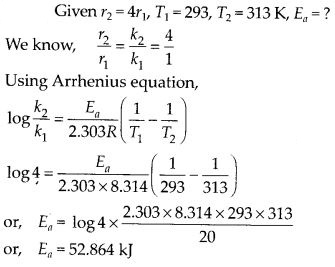NCERT Solutions For Class 12 Chemistry Chapter 4 Chemical Kinetics Exercises Q30