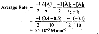 NCERT Solutions For Class 12 Chemistry Chapter 4 Chemical Kinetics Textbook Questions Q2