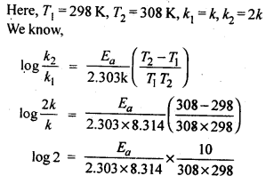 NCERT Solutions For Class 12 Chemistry Chapter 4 Chemical Kinetics Textbook Questions Q8