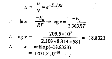 NCERT Solutions For Class 12 Chemistry Chapter 4 Chemical Kinetics Textbook Questions Q9