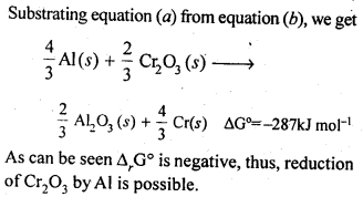 NCERT Solutions For Class 12 Chemistry Chapter 6 General Principles and Processes of Isolation of Elements Exercises Q21.2