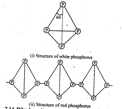 NCERT Solutions For Class 12 Chemistry Chapter 7 The p Block Elements Exercises Q13.1