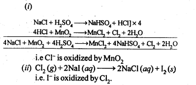NCERT Solutions For Class 12 Chemistry Chapter 7 The p Block Elements Exercises Q32