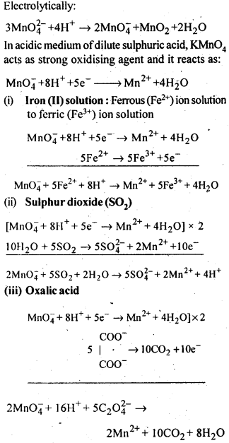 NCERT Solutions For Class 12 Chemistry Chapter 8 The d and f Block Elements Exercises Q16