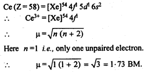 NCERT Solutions For Class 12 Chemistry Chapter 8 The d and f Block Elements Exercises Q31