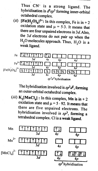 NCERT Solutions For Class 12 Chemistry Chapter 8 The d and f Block Elements Exercises Q38.2