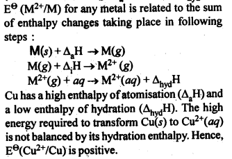 NCERT Solutions For Class 12 Chemistry Chapter 8 The d and f Block Elements Intext Questions Q4.1