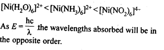 NCERT Solutions For Class 12 Chemistry Chapter 9 Coordination Compounds Exercises Q32