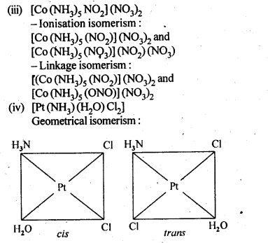 NCERT Solutions For Class 12 Chemistry Chapter 9 Coordination Compounds Intext Questions Q3.2