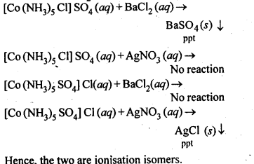 NCERT Solutions For Class 12 Chemistry Chapter 9 Coordination Compounds Intext Questions Q4