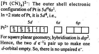 NCERT Solutions For Class 12 Chemistry Chapter 9 Coordination Compounds Intext Questions Q9