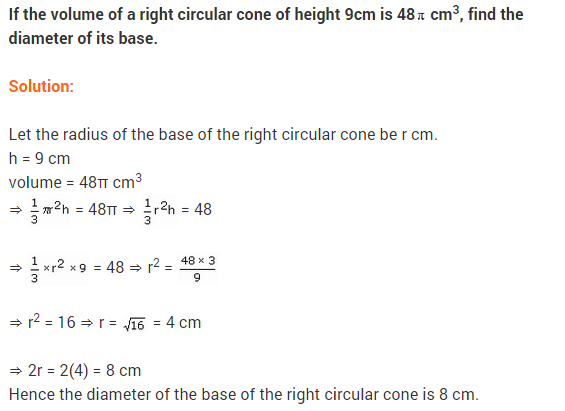 Class 9 Maths NCERT Solutions Chapter 13 Surface Areas and Volumes Ex 13.7 A4