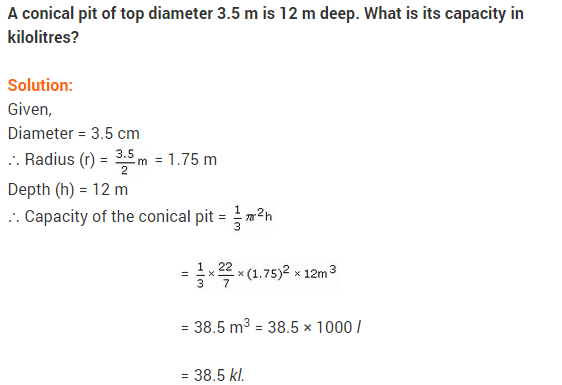 Class 9 Maths NCERT Solutions Chapter 13 Surface Areas and Volumes Ex 13.7 A5