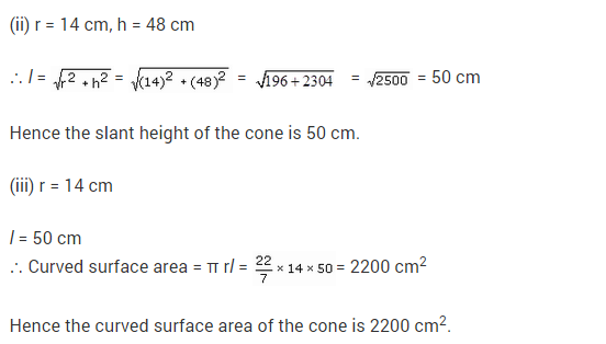Class 9 Maths NCERT Solutions Chapter 13 Surface Areas and Volumes Ex 13.7 A6.1