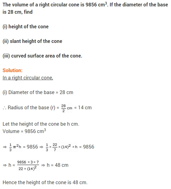 Class 9 Maths NCERT Solutions Chapter 13 Surface Areas and Volumes Ex 13.7 A6