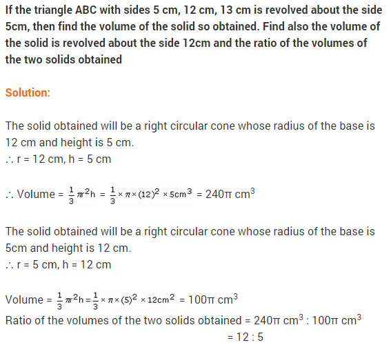 Class 9 Maths NCERT Solutions Chapter 13 Surface Areas and Volumes Ex 13.7 A8