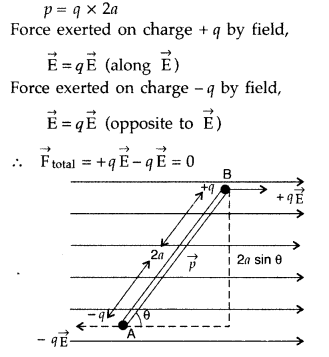 Important Questions for Class 12 Physics Chapter 1 Electric Charges and Fields Class 12 Important Questions 14