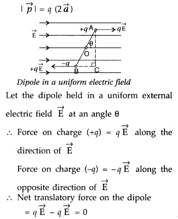Important Questions for Class 12 Physics Chapter 1 Electric Charges and Fields Class 12 Important Questions 74