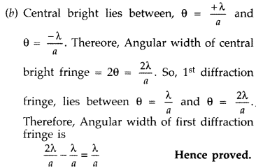 Important Questions for Class 12 Physics Chapter 10 Wave Optics Class 12 Important Questions 107