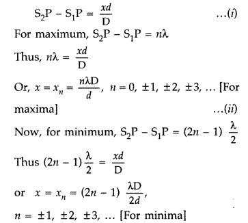 Important Questions for Class 12 Physics Chapter 10 Wave Optics Class 12 Important Questions 123