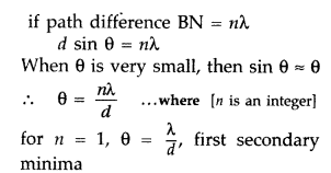 Important Questions for Class 12 Physics Chapter 10 Wave Optics Class 12 Important Questions 127