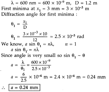 Important Questions for Class 12 Physics Chapter 10 Wave Optics Class 12 Important Questions 25