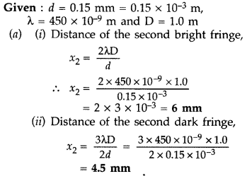 Important Questions for Class 12 Physics Chapter 10 Wave Optics Class 12 Important Questions 45