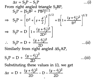 Important Questions for Class 12 Physics Chapter 10 Wave Optics Class 12 Important Questions 50