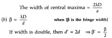 Important Questions for Class 12 Physics Chapter 10 Wave Optics Class 12 Important Questions 61