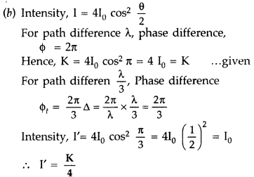Important Questions for Class 12 Physics Chapter 10 Wave Optics Class 12 Important Questions 62