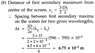 Important Questions for Class 12 Physics Chapter 10 Wave Optics Class 12 Important Questions 63