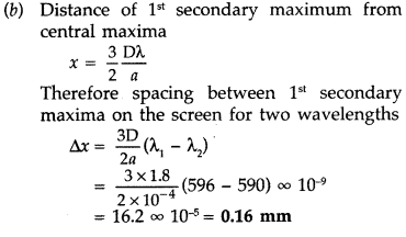 Important Questions for Class 12 Physics Chapter 10 Wave Optics Class 12 Important Questions 64