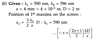 Important Questions for Class 12 Physics Chapter 10 Wave Optics Class 12 Important Questions 98