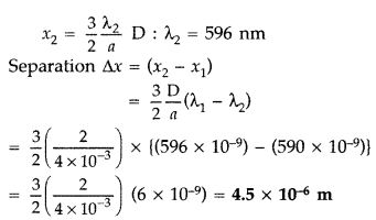 Important Questions for Class 12 Physics Chapter 10 Wave Optics Class 12 Important Questions 99