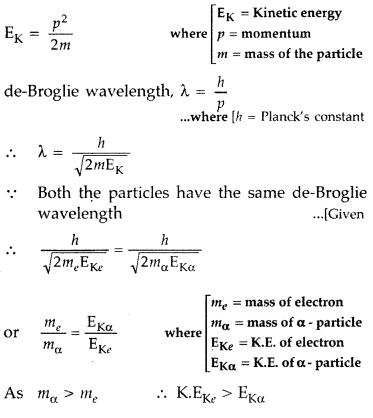 Important Questions for Class 12 Physics Chapter 11 Dual Nature of Radiation and Matter Class 12 Important Questions 1