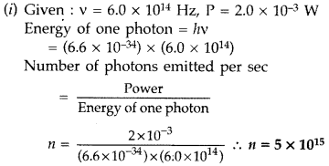 Important Questions for Class 12 Physics Chapter 11 Dual Nature of Radiation and Matter Class 12 Important Questions 25