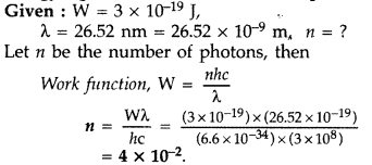 Important Questions for Class 12 Physics Chapter 11 Dual Nature of Radiation and Matter Class 12 Important Questions 35