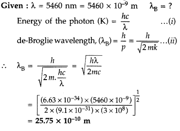 Important Questions for Class 12 Physics Chapter 11 Dual Nature of Radiation and Matter Class 12 Important Questions 36