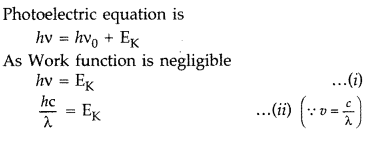 Important Questions for Class 12 Physics Chapter 11 Dual Nature of Radiation and Matter Class 12 Important Questions 43