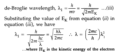 Important Questions for Class 12 Physics Chapter 11 Dual Nature of Radiation and Matter Class 12 Important Questions 44