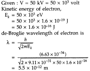 Important Questions for Class 12 Physics Chapter 11 Dual Nature of Radiation and Matter Class 12 Important Questions 62