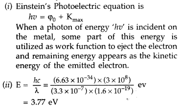 Important Questions for Class 12 Physics Chapter 11 Dual Nature of Radiation and Matter Class 12 Important Questions 73