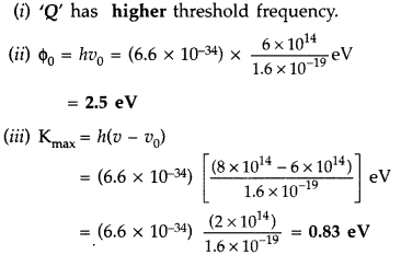Important Questions for Class 12 Physics Chapter 11 Dual Nature of Radiation and Matter Class 12 Important Questions 74