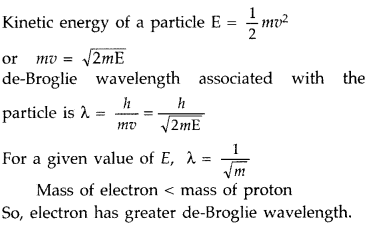 Important Questions for Class 12 Physics Chapter 11 Dual Nature of Radiation and Matter Class 12 Important Questions 8