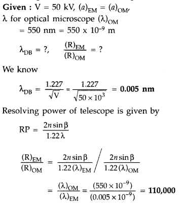 Important Questions for Class 12 Physics Chapter 11 Dual Nature of Radiation and Matter Class 12 Important Questions 83
