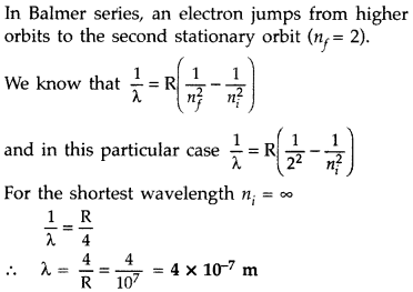 Important Questions for Class 12 Physics Chapter 12 Atoms Class 12 Important Questions 24