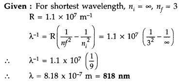 Important Questions for Class 12 Physics Chapter 12 Atoms Class 12 Important Questions 37