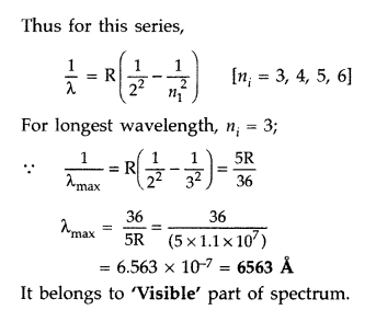 Important Questions for Class 12 Physics Chapter 12 Atoms Class 12 Important Questions 39